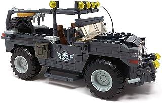 Brigamo Briques de construction voiture SWAT homard voiture de police 632 briques de serrage