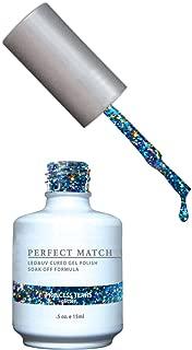 LECHAT Perfect Match Nail Polish, Princess Tears, 0.500 Ounce