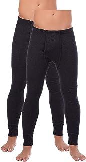 BestSale247 Thermo-onderbroek voor heren, lang skiondergoed, functioneel ondergoed