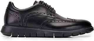 675-GLA GLAEXL-Antik Siyah 201 Nevzat Onay Siyah Deri Günlük Erkek Ayakkabı