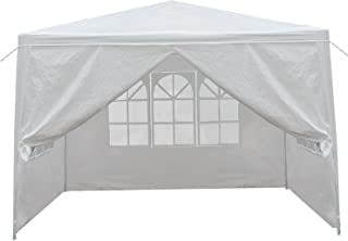 BBBuy 10'x10' Outdoor Party Wedding Tent Canopy Camping Gazebo Storage BBQ Shelter Pavilion with 4 Removable Sidewalls (10x10)