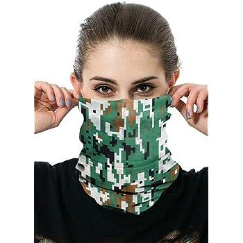 Unisex Multifunctional Seamless Bandana Face Mask Neck Gaiter Headwear Tube Mask Scarf