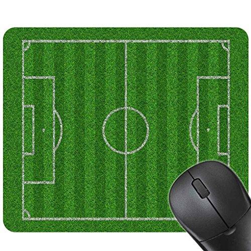 Heren Jongens 24x20CM Voetbalveld Gaming-pads, Gaming-muismat, Rubberen muismat Mat Rubberen muismat Speeltuin Sport Print Toetsenbord Mat