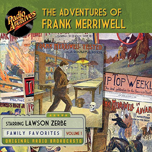 The Adventures of Frank Merriwell, Volume 1 cover art