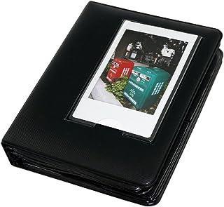 Gift4ES Macaron Marco Colorido de la Fujifilm Fuji Instax Mini instantánea Polaroid Películas Libro Álbum de Fotos Mini 7s / 8/9 / 25/50 / 90/70 Negro