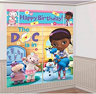 Scene Setter Wall Decorating Kit | Disney Doc McStuffins Collection | Birthday