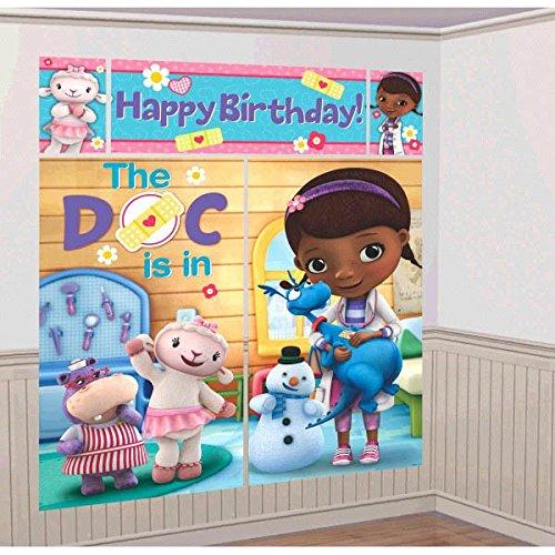 Scene Setter Wall Decorating Kit   Disney Doc McStuffins Collection   Birthday
