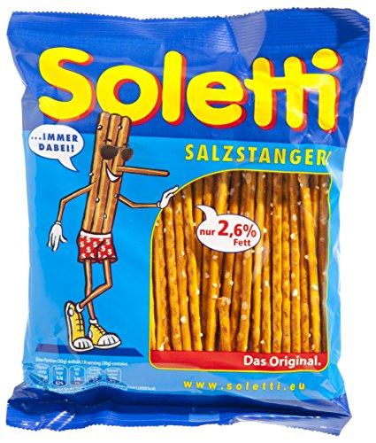 Soletti - Palitos Salados - 120 g - , Pack de 6