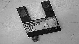 Balluff Bgl 20A-001-S49 Photoelecetric Slot Sensor 10...30Vdc 200Ma Bgl 20A-001-S49