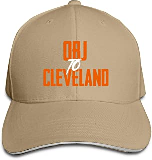 Adjustable Baseball Cap New York Odell OBJ to Cleveland Cool Snapback Hats