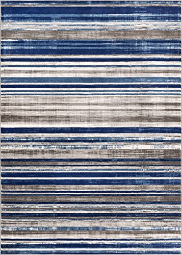 Well Woven Signature Stripes Modern Area Rug, 5'3