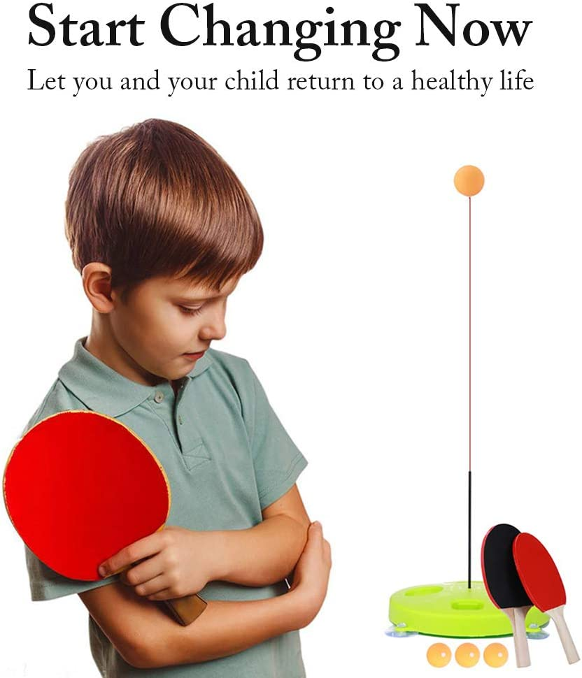 Jingolden Table Tennis Trainer with Leisure Soft Philadelphia Mall specialty shop Shaft Elastic