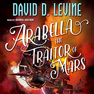 Arabella the Traitor of Mars audiobook cover art