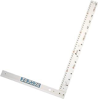 シンワ測定(Shinwa Sokutei) 丸ノコガイド定規 エルアングル 取手なし 50cm 77858