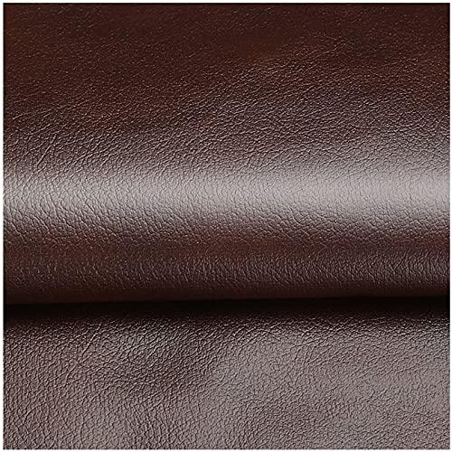 合皮 補修シート200cm×138cm 合皮生地 レザーシール 貼るレザー 貼る柔らかめ 張替え 耐久 diy 皮 ソファー ひび割れ 補修 自動車 シート 穴 補修 (Color:18-light brown)