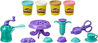 Play-Doh Kitchen Creations - Delightful Donuts Play Food Set - Inc 4 Tubs of Dough - sensory and educational craft toys fo...