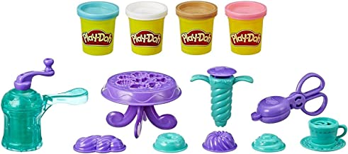 Play-Doh Kitchen Creations - Delightful Donuts Play Food Set - Inc 4 Tubs of Dough - Creative Kids Toys - Ages 3+