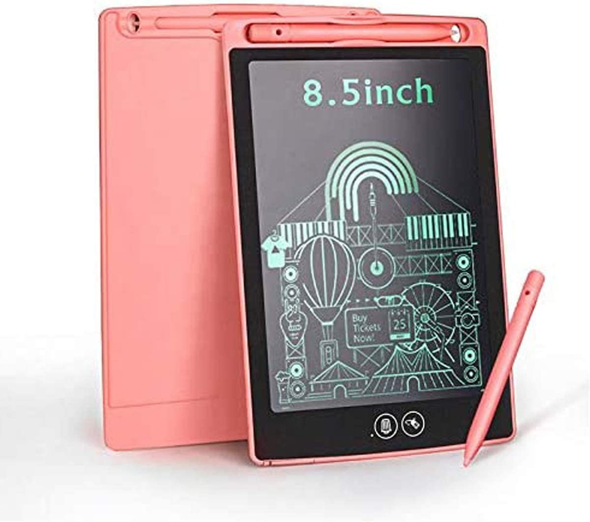 Electronic Drawing Max 75% OFF Doodle Graphics 8.5inch Max 81% OFF with Pink Smart Board