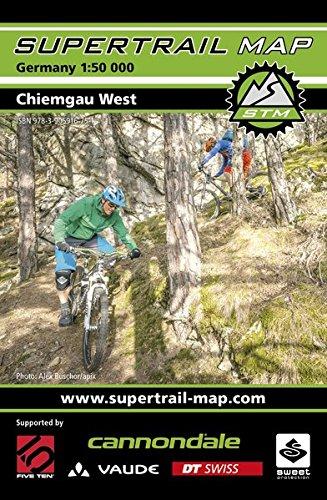 Supertrail Map Chiemgau West: Maßstab 1:50 000
