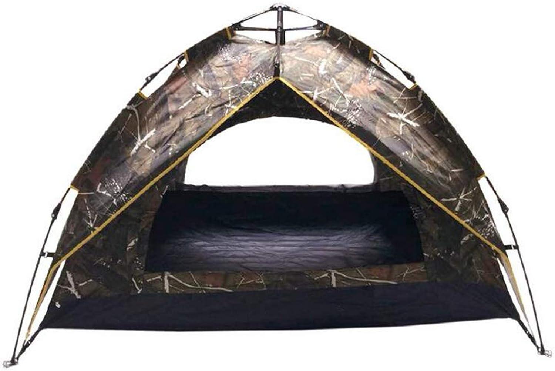 HUYYA Camping Zelte Wurfzelt 2 Personen Wasserabweisend, Das Zelt Faltbar Pop Up Sofortige Einrichtung Ausrüstung zum Wandern Rucksackreisen
