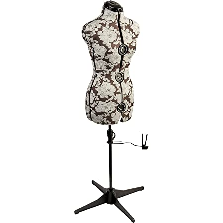 Sewing Online Mannequin Couture Réglable Hollyhock Gris [Petite]