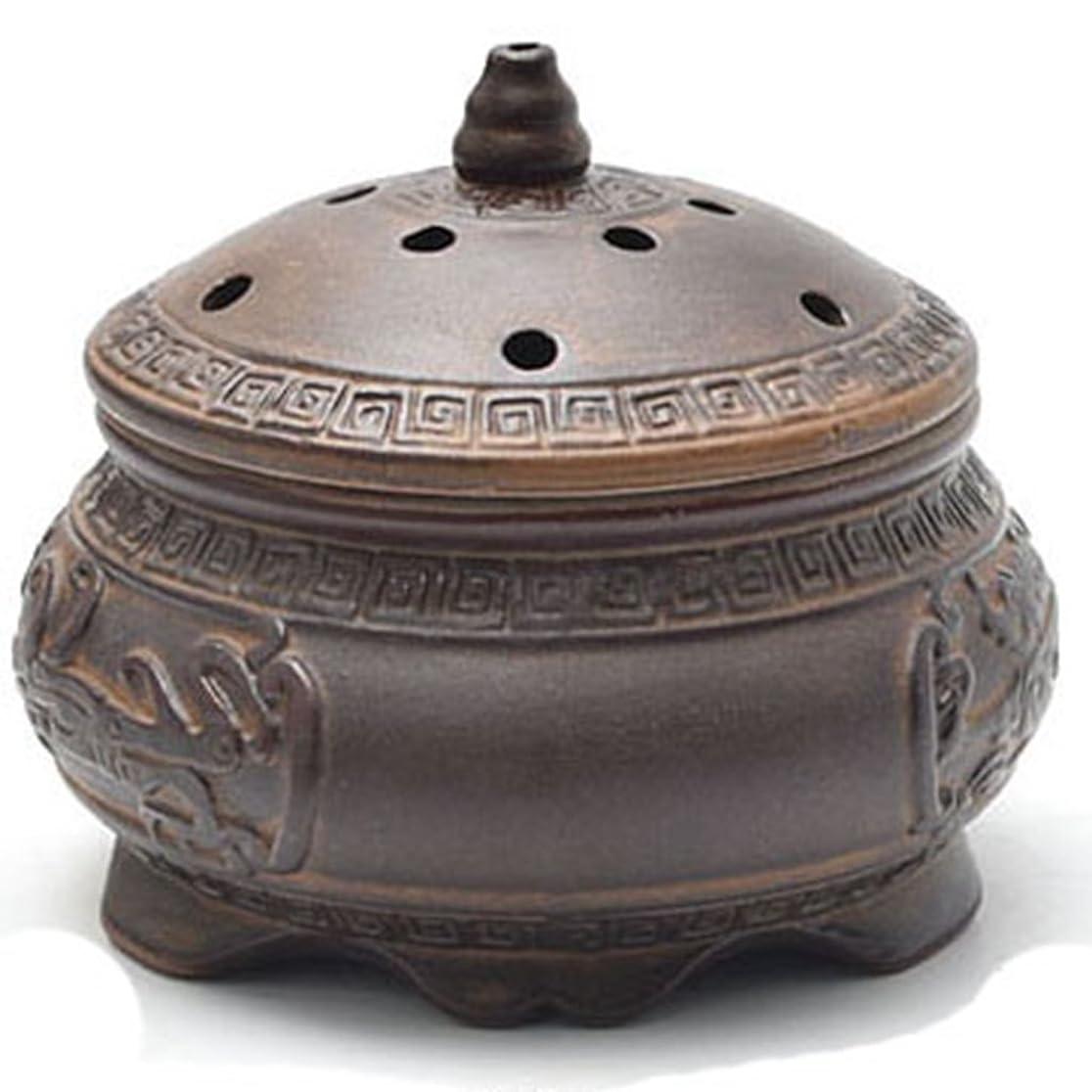 猟犬レビュー支援(ラシューバー) Lasuiveur 香炉 線香立て 香立て 職人さんの手作り 茶道用品 おしゃれ
