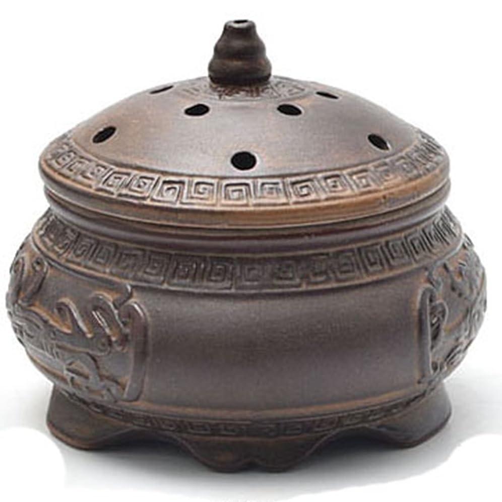 騒ぎ電話に出る相互(ラシューバー) Lasuiveur 香炉 線香立て 香立て 職人さんの手作り 茶道用品 おしゃれ
