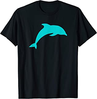 Blue Dolphin T Shirt - Football Gift Tee