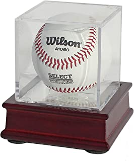 DisplayGifts Pro UV Baseball Display Case Holder Stand