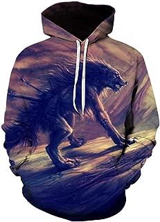 Men Hoodies Animal Parrot Vision 3D Digital Printing Sweatshirt Autumn Men Women Casual Long Sleeve Pocket Hooded Pullover