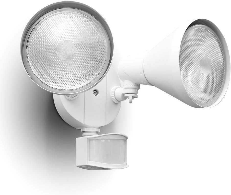 A white Motion Sensor Light In Your Home or office to alert you of the going-ons at your door.