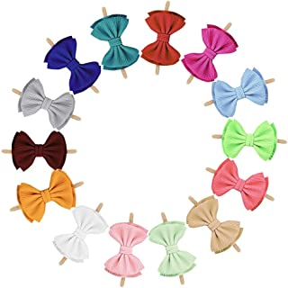 Baby Nylon Headbands Hairbands Hair Bow Elastics for Baby Girls Newborn Infant Toddlers Kids Babie hair Accessories bow