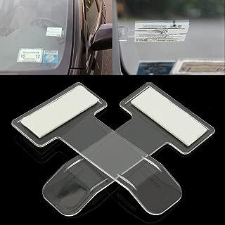 5 Stück Parkschein Parkplatz Ticket Cliphalter Auto Windschutzscheibe Klammers