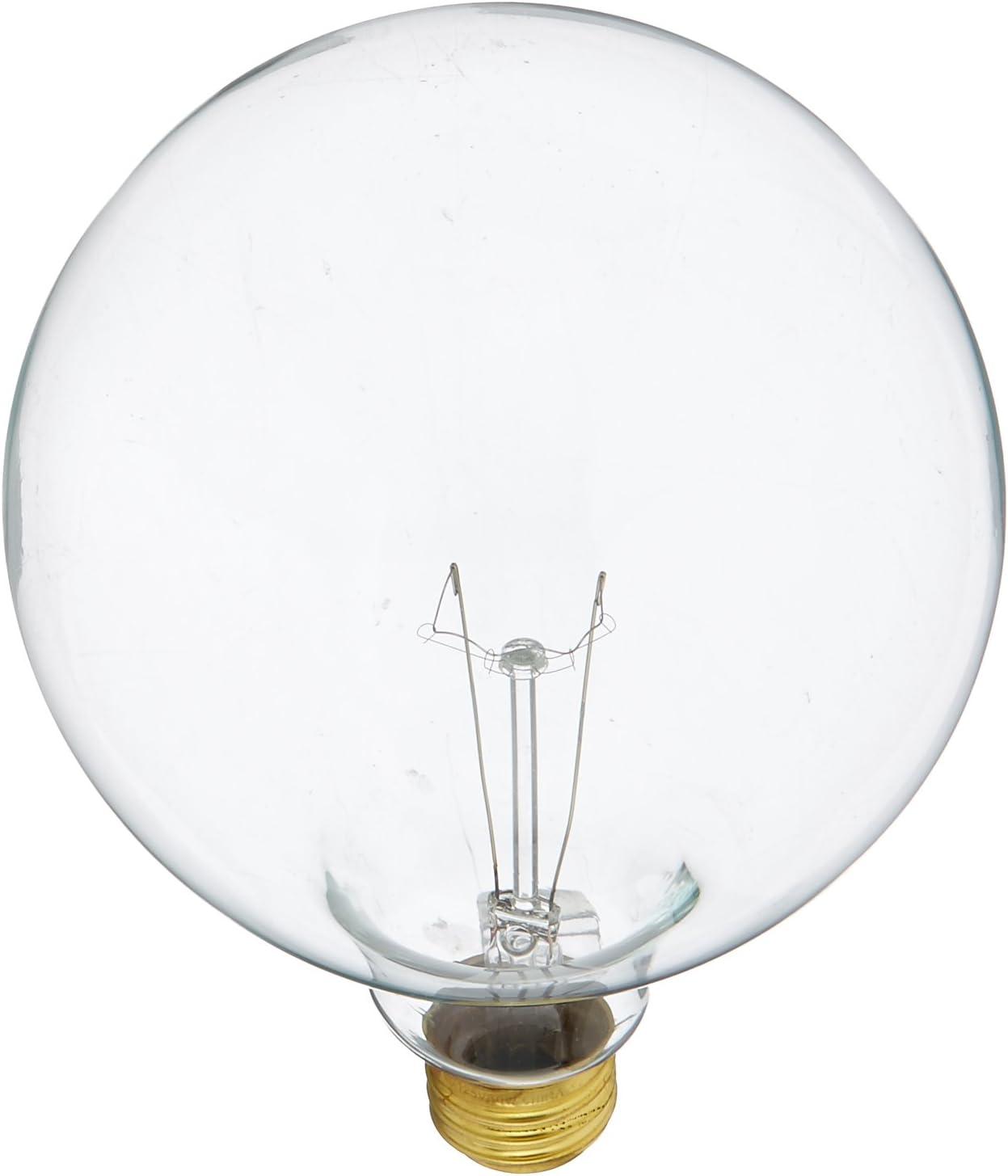Bulbrite Incandescent G40 Medium Screw E26 Light Max 59% OFF 60 Base Bulb Trust