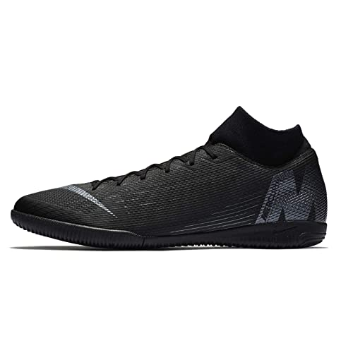 buy popular 4f8cc 90e1e Nike Superfly X 6 Academy Men s Indoor Soccer Shoes (11.5 D US) Black