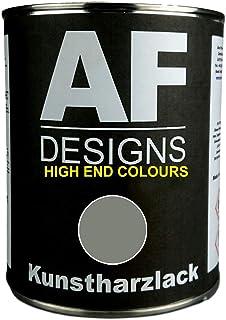 Alex Flittner Designs 1 Liter Kunstharzlack für DEUTZ GRAU 06 Maschinen LKW NFZ Lack Landmaschine Baumaschine