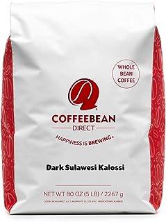 Sponsored Ad - Coffee Bean Direct Dark Sulawesi Kalossi, Whole Bean Coffee, 5-Pound Bag