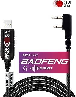 Mirkit USB Programming Cable Model 3 FtdiBlack for Flashing: Mirkit, BaofengRadio, Wouxun, Kenwood, Archell, Retevis