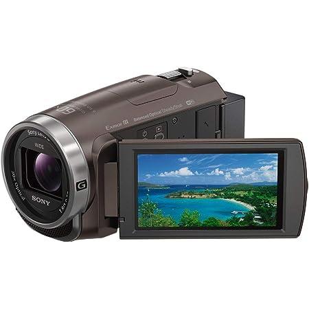 ソニー ビデオカメラ Handycam 光学30倍 内蔵メモリー64GB ブロンズブラウンHDR-CX680 TI