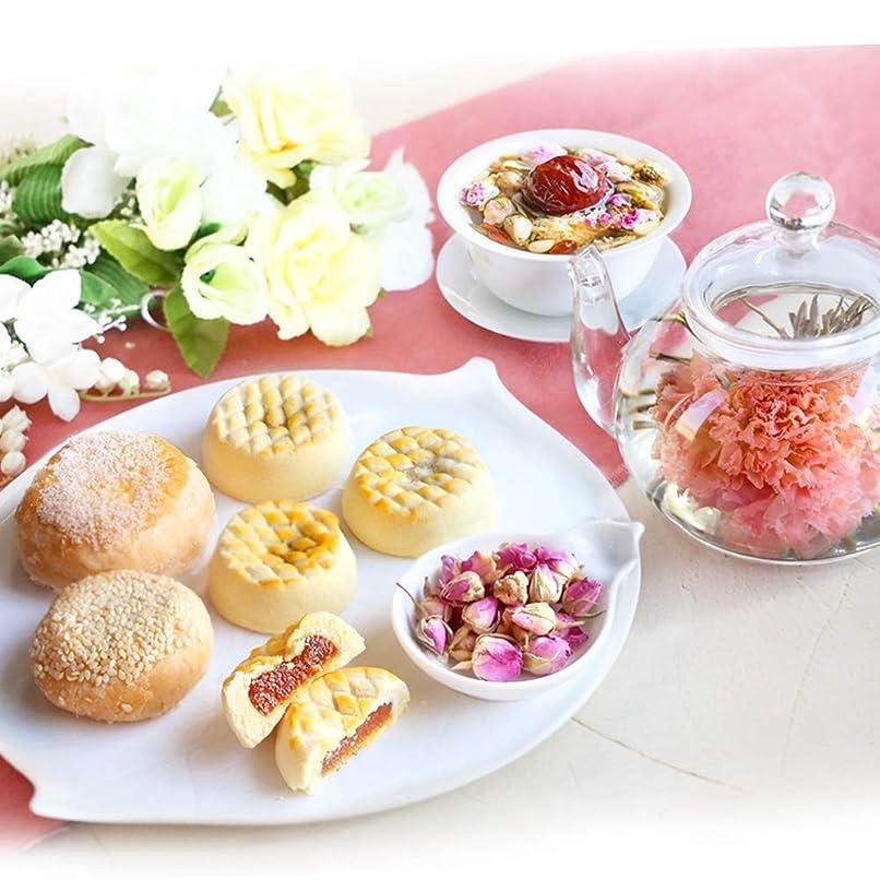 容量ビバウィザードスイーツ ギフト 人気 工芸茶 5種&人気菓子 ほっこりセット カーネーション茶 焼き菓子 誕生日 (通常ラッピング)