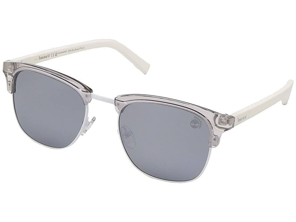 Timberland TB9148 (Grey/Other/Smoke Polarized) Fashion Sunglasses