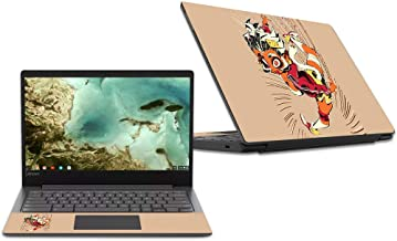 MightySkins Skin Compatible with Lenovo Chromebook S330 (2018) - Monkey Girl | Protective, Durable, and Unique Vinyl Decal wrap Cover | Easy to Apply, Remove, and Change Styles | Made in The USA