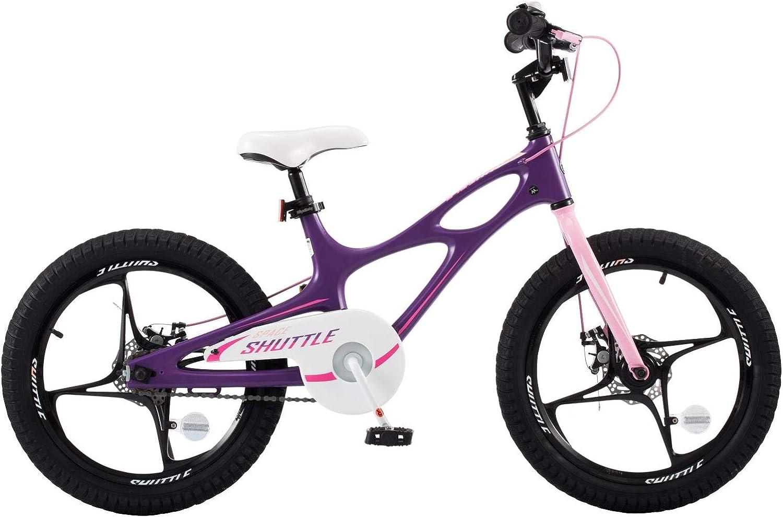 Royalbaby 18  Magnesium Space Shuttle Kid's Bike, Purple