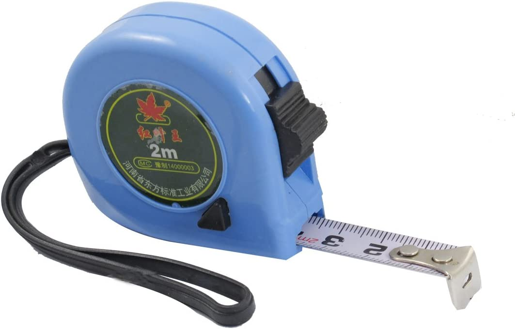Manufacturer direct delivery Aexit 2M Blue Tools Home Flexible Improvement Me Plastic Shell Cheap SALE Start