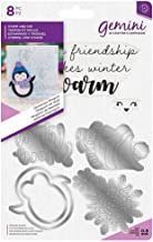 Crafter's Companion Gemini - Paper Craft Stamp & Die Set - Christmas Penguin