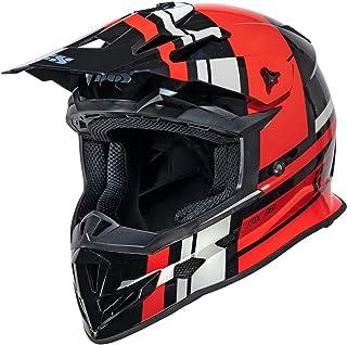 IXS 361 2.3 Motocross Helm Schwarz Matt/Rot XS 53/54