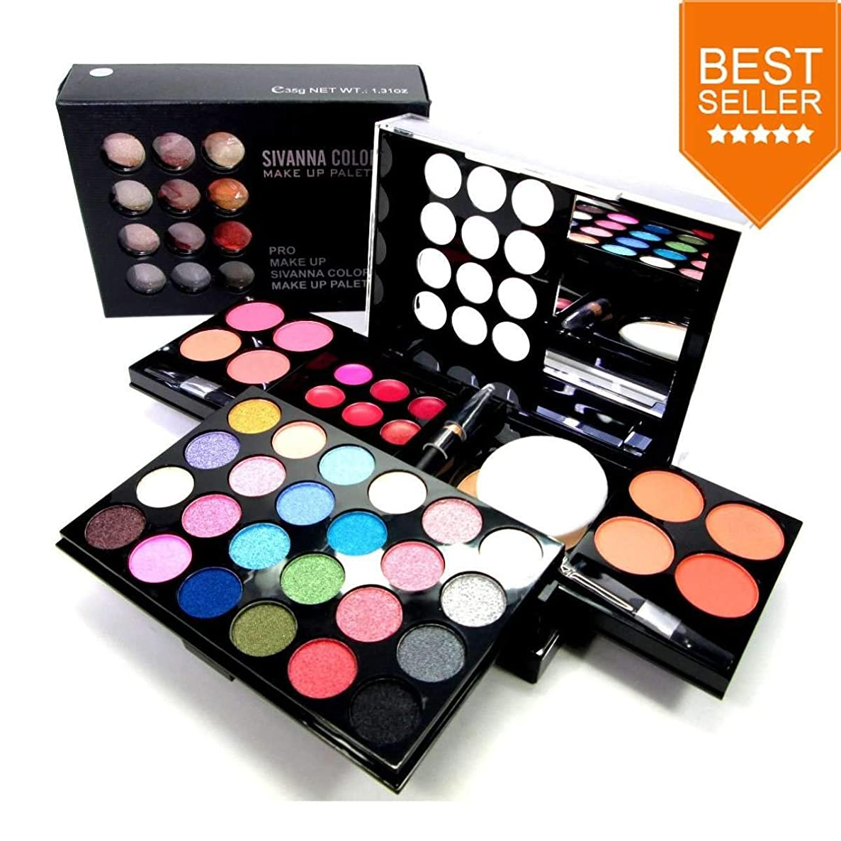首出席極地#2 Sivanna Colors PRO MAKE UP PALETTE DK212 3 in 1 Make-up Palette Set