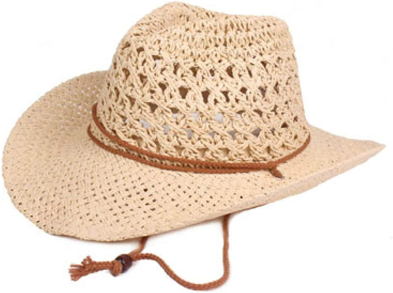 XDHRTS Women Men Wide Brim Straw Hat Fashion Chapeau Breathable Summer Lady Sun Hat Travel Beach Cap Sun Visors Fedoras