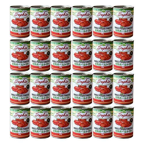 イタリア産 完熟 トマト缶 ホールトマト【24缶セット】キャンセル・返品不可