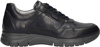 Cordones de hombre negroGiardini E101960U de piel negra o azul, modelo informal, un calzado cómodo adecuado para todas las...
